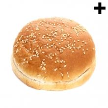 Imagen en la que se ve el plural del concepto pan de hamburguesa