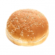 Imagen en la que se ve un pan de hamburguesa