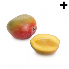 Imagen en la que se ve el plural del concepto mango