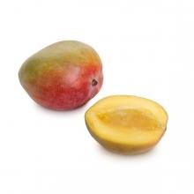 Imagen en la que se ve una fruta, el mango
