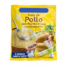 Imagen en la que se ve un sobre de sopa