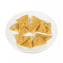 Imagen en la que se ve un plato con nachos