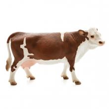 Imagen en la que se ve una vaca en perspectiva lateral