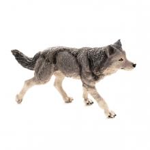 Imagen en la que se ve a un lobo