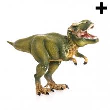 Imagen en la que se ve el plural del concepto tiranosaurio