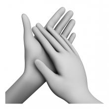 Imagen en la que aparecen unas manos aplaudiendo