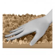 Imagen en la que se ve una textura áspera