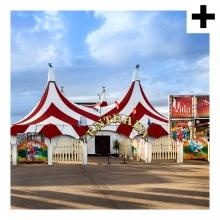 Imagen en la que se ve el plural del concepto circo