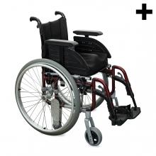Imagen en la que se ve el plural del concepto silla de ruedas