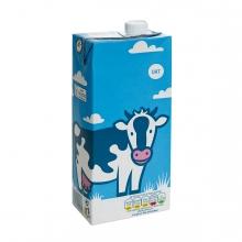 Imagen en la que se ve una caja de leche