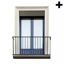 Imagen en la que se ve el plural del concepto balcón