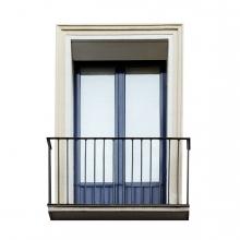 Imagen en la que se ve un balcón