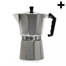Imagen en la que se ve el plural del concepto cafetera