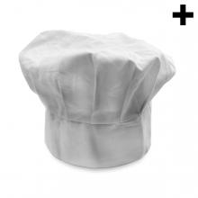Imagen en la que se ve el plural del concepto gorro de cocinero
