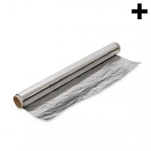 Imagen en la que se ve el plural del concepto papel de aluminio