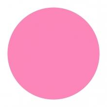 Imagen en la que se ve un círculo de color rosa
