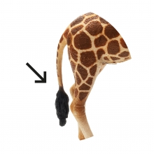 Imagen en la que se ve una cola de animal