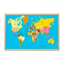 Imagen en la que se ve un mapamundi