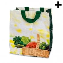 Imagen en la que se ve el plural del concepto bolsa de la compra