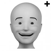 Imagen en la que se ve el plural del concepto contento