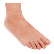 Imagen en la que se ve un pie humano