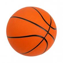 Imagen en la que se ve una pelota de baloncesto