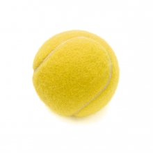Imagen en la que se ve una pelota de tenis
