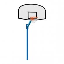 Imagen en la que se ve una canasta de baloncesto