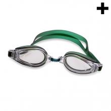 Imagen en la que se ve el plural del concepto gafas para nadar
