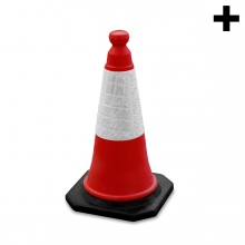 Imagen en la que se ve el plural del concepto cono de señalización