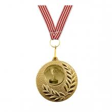 Imagen en la que se ve una medalla de oro