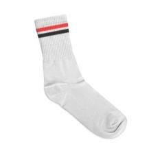 Imagen en la que se ve un calcetín de deporte