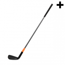 Imagen en la que se ve el plural del concepto palo de golf