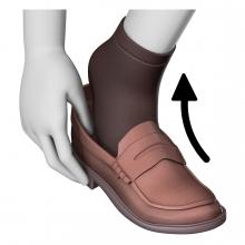 Imagen del verbo descalzar