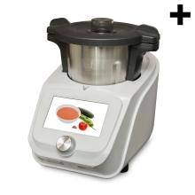 Imagen en la que se ve el plural del concepto robot de cocina