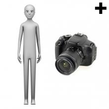 Imagen en la que se ve el plural del concepto fotógrafo o fotógrafa