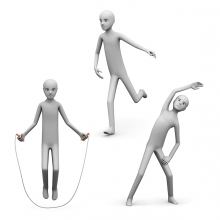 Imagen en la que se ve el concepto actividad física