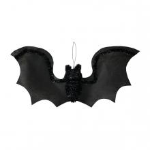 Imagen en la que se ve un murciélago de adorno