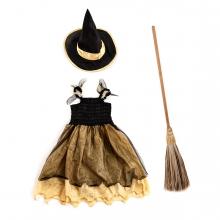 Imagen en la que se ve un disfraz de bruja