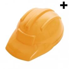 Imagen en la que se ve el plural del concepto casco de obra