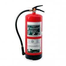 Imagen en la que se ve un extintor