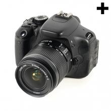 Imagen en la que se ve el plural del concepto cámara de fotos