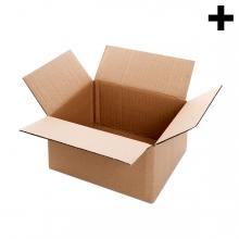 Imagen en la que se ve el plural del concepto caja de cartón