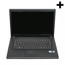 Imagen en la que se ve el plural del concepto ordenador portátil