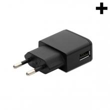 Imagen en la que se ve el plural del concepto cargador USB
