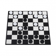 Imagen en la que sale el juego de las damas