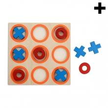 Imagen en la que se ve el plural del concepto juego del tres en raya