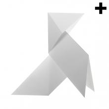 Imagen en la que se ve el plural del concepto pajarita de papel