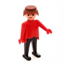 Imagen en la que se ve un un muñeco articulado de plástico