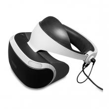 Imagen en la que se ve un casco de realidad virtual